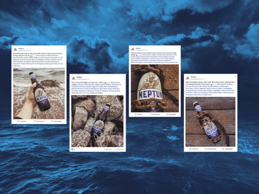 thumbnail pictures of Neptun beer: on the beach, among stones, chained, sea in the background