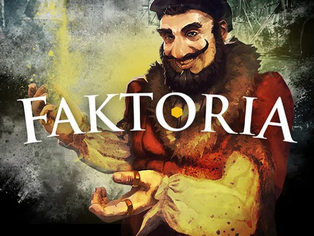 Faktoria - The strategic fantasy board game from Lutygo